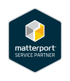 For Web Official Matterport Service Partner Badge
