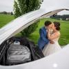Lynn und Stephan im Hochzeitsglück