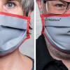 Express- und Modell-Job zugleich: Schutzmasken-Fotos für Triopan