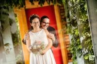 Karin und Pascal, vom Schaufenster zur Trauung