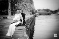 Christian und Vanessa und ihre Kombihochzeit auf Schloss Wartensee