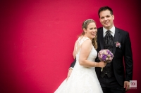 Marlies und Silvan, eine Heirat, zwei Brautväter und eine Taufe.