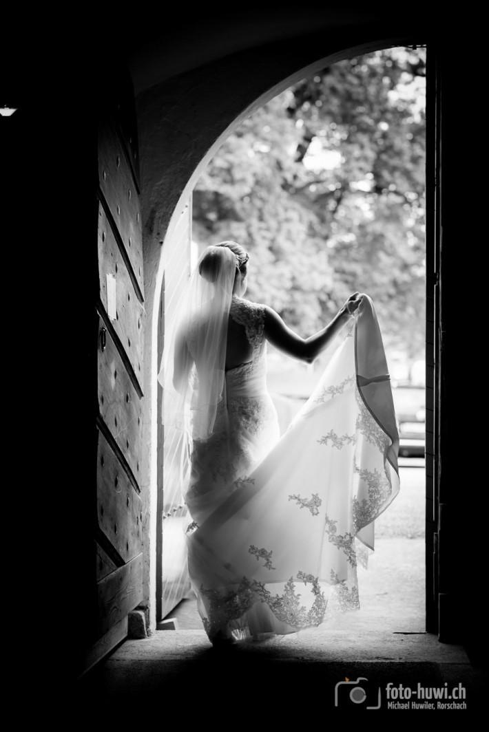 Faszinierendes Spiel von Licht und Schatten... ein Traum für jeden Hochzeitsfotografen.