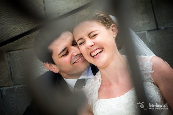 ... immer wieder schienen die Beiden die Anwesenheit ihres Hochzeitsfotografen zu vergessen. Perfekt! ;)