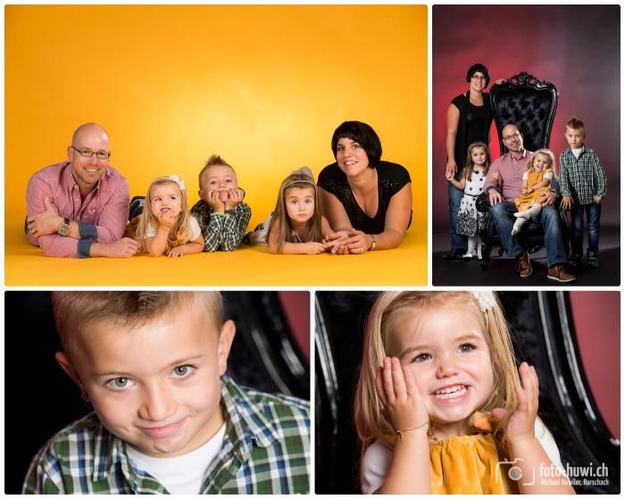 Fröhliche Familienfotos - daran erinnert man sich gerne!