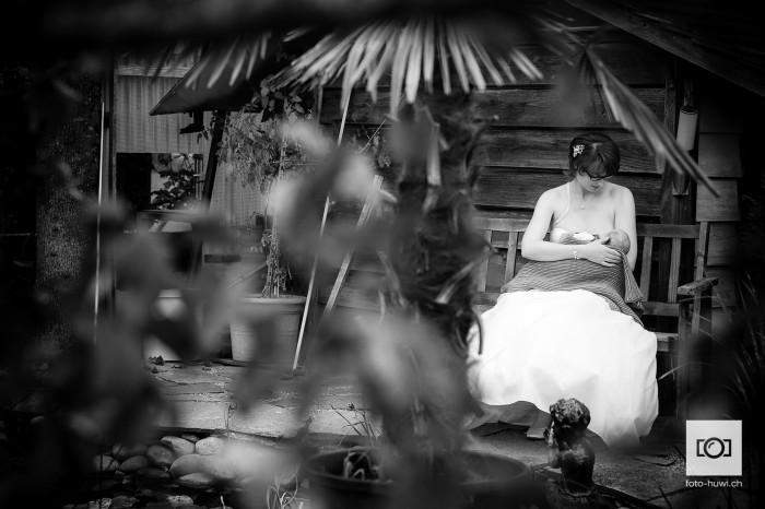 Die stillende Braut