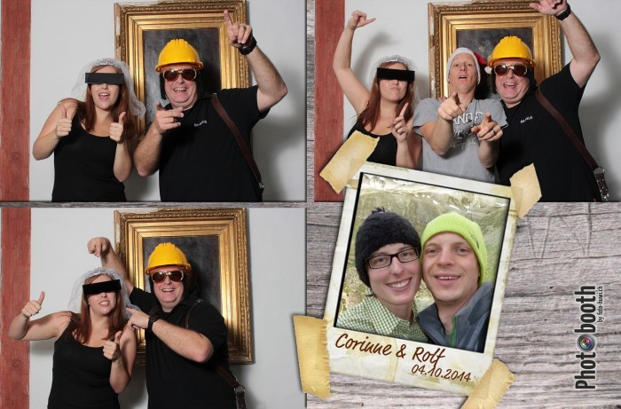 Der Photobooth garantiert eine grosse Party