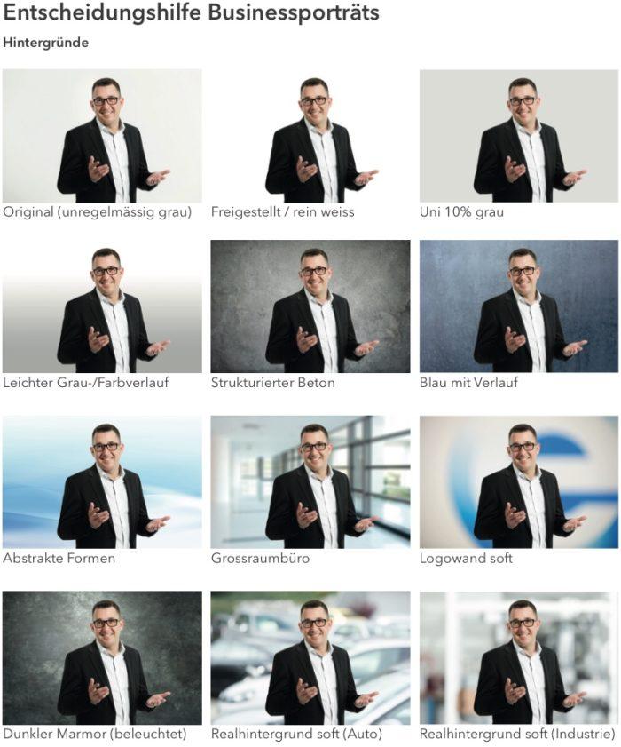 entscheidungshilfe businessporträt hintergründe v2